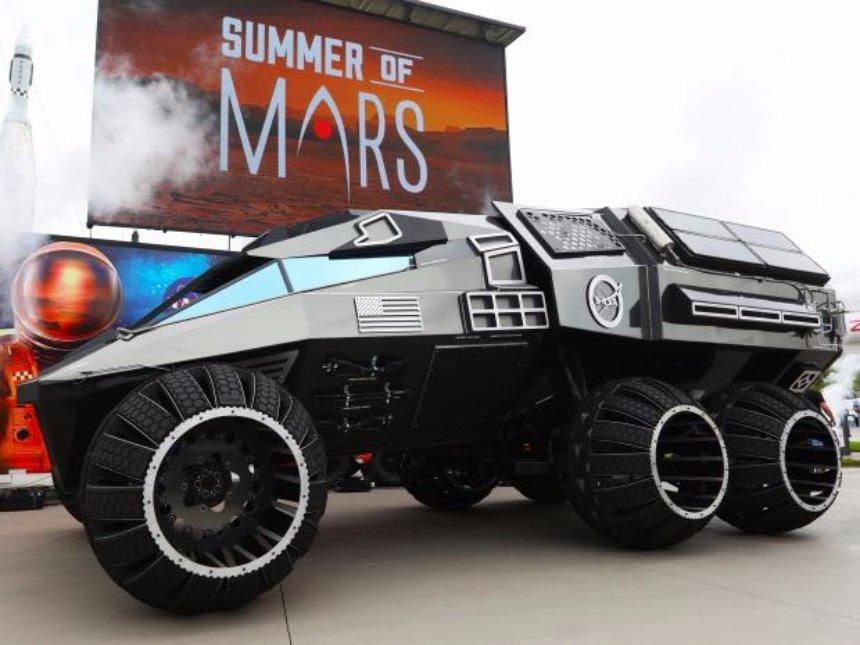 Представители НАСА презентовали марсоход
