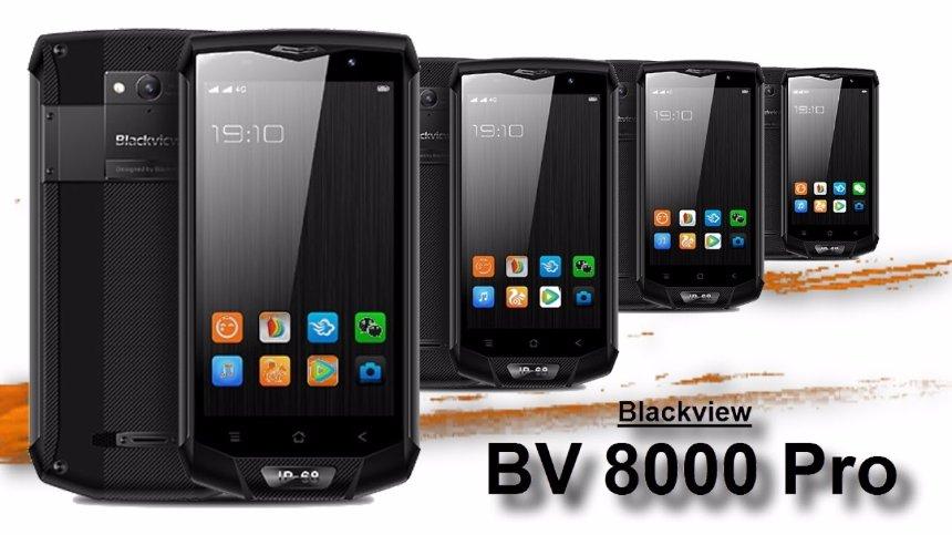Стартовали продажи защищенного смартфона Blackview bv8000 Pro
