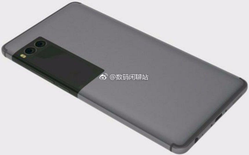 Meizu готовится выпустить новый смартфон с дополнительным дисплеем сзади