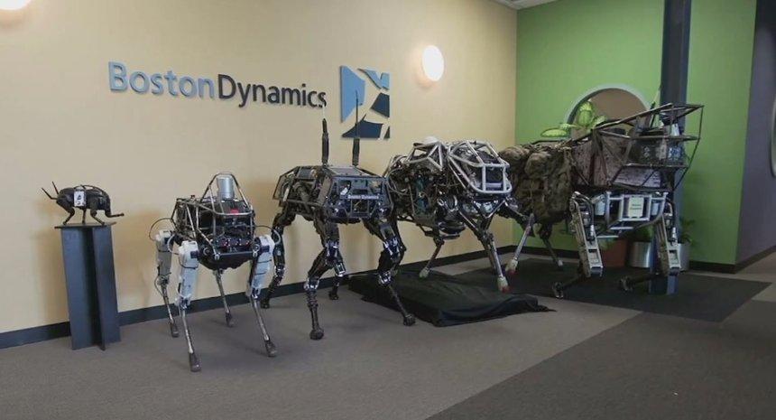 Google продала японцам робототехническую компанию Boston dynamics