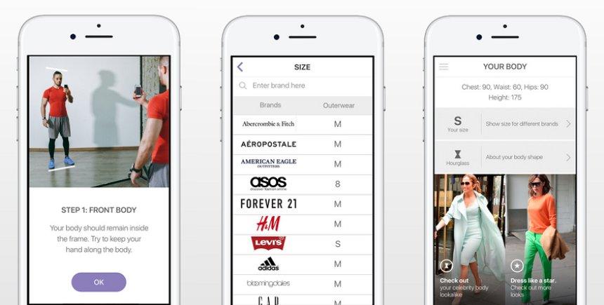 Создано приложение, которое способно угадать размер одежды по фотографии