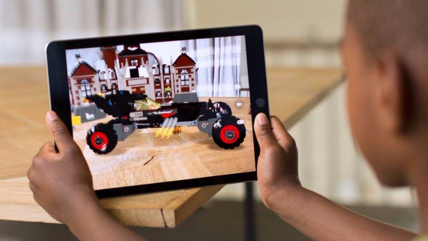 Новая iOS 11 поддержит режим дополненной реальности