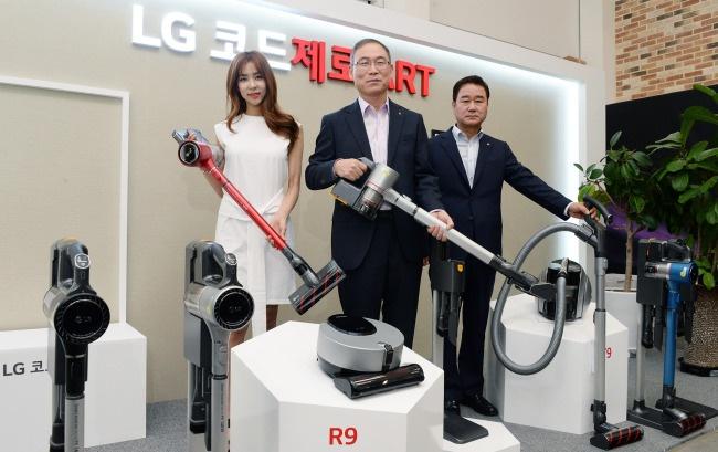Новый пылесос LG Т9 побил рекорд индустрии по мощности всасывания