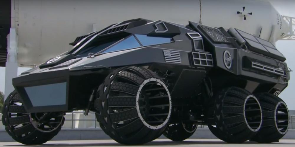 Внедорожник для Марса от NASA сделали похожим на бэтмобиль