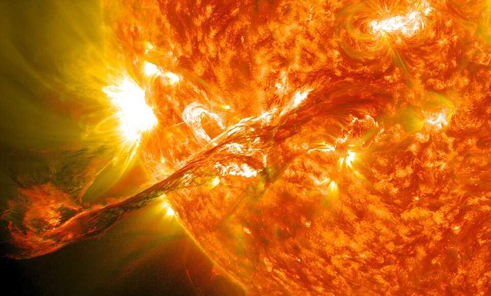 Ученые предсказали сценарий апокалипсиса в результате вспышек на солнце