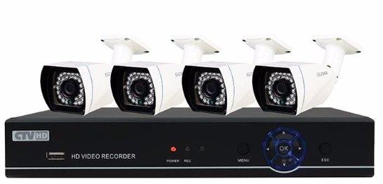 Комплекты видеонаблюдения: мощное современное оборудование