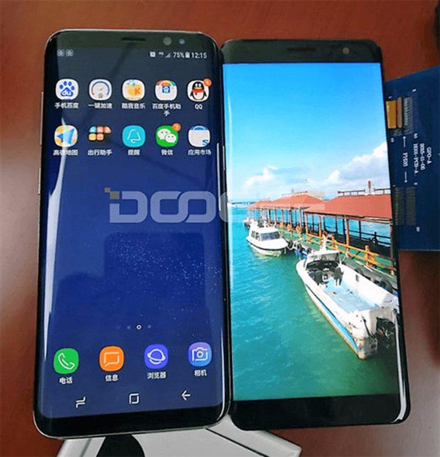 Китайская компания Doogee сделает клон Samsung Galaxy S8