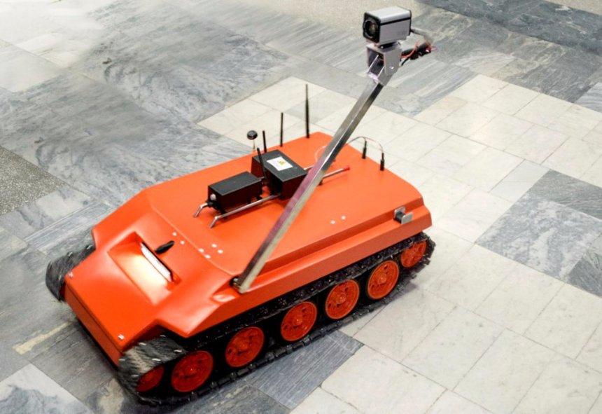 В России создали робот-танк, устойчивый к ядам и радиации