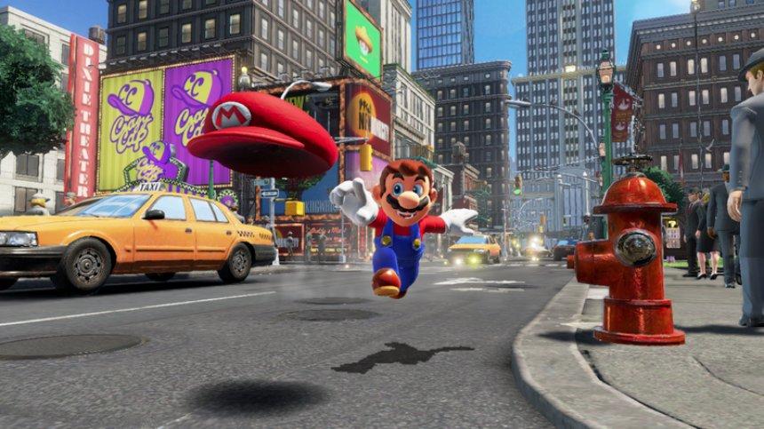 Игры  | Новые возможности «Супер Марио»: чудо-кепка и управление разумом | 1-280