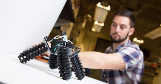 В США создали робота из мягких материалов