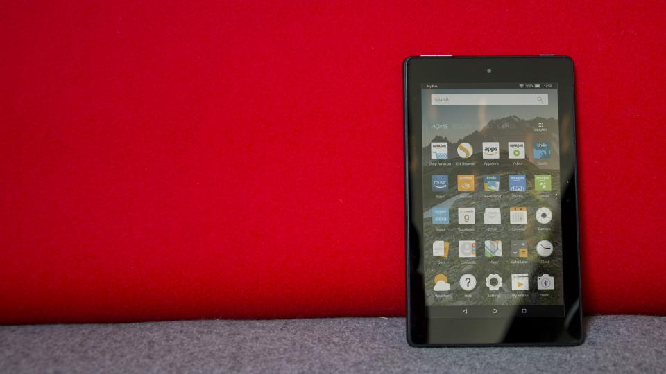 В США рассказали о недостатках бюджетного планшета Amazon Fire 7