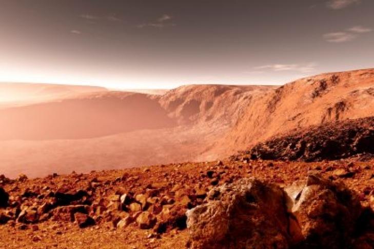 NASA нашли на Марсе гигантского краба