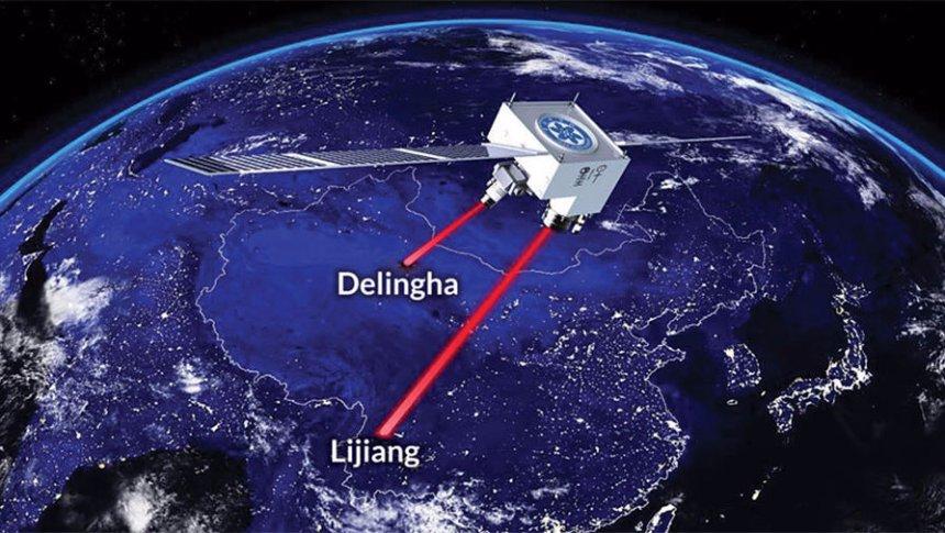 В Китае осуществили квантовый телепорт с Земли в космос