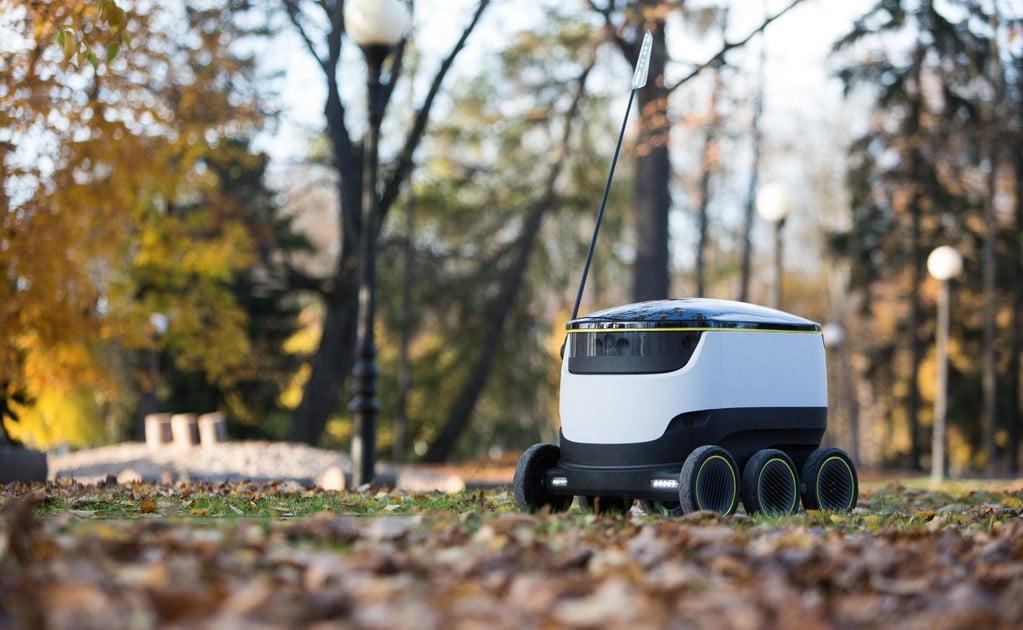 Посылки эстонцам будут доставлять роботы от создателей  Skype