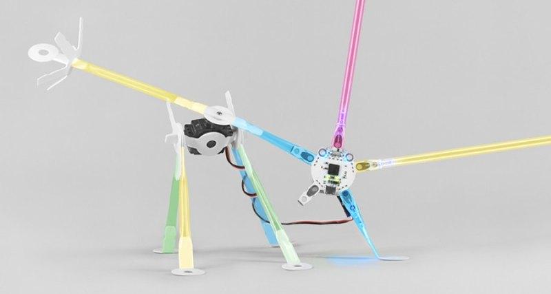 В Гарварде изобрели робота-паука из трубочек для сока