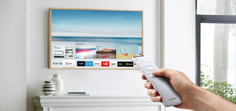 Произведение искусства от Samsung: 4К-телевизор в галерейной рамке