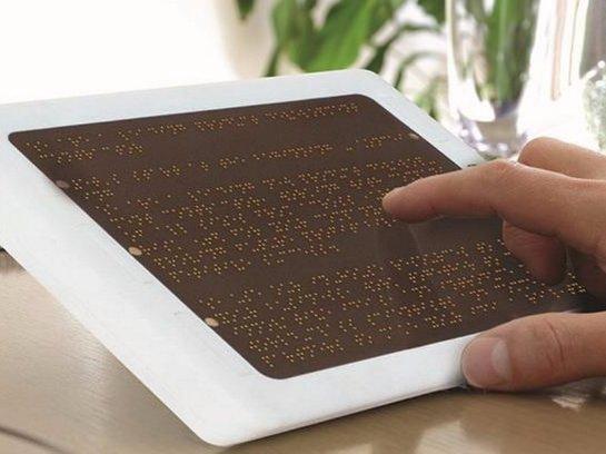 Тюменские ученые создали электронную тетрадь для слепых людей