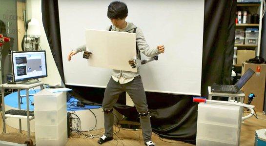 Японские ученые создали дополнительную пару рук