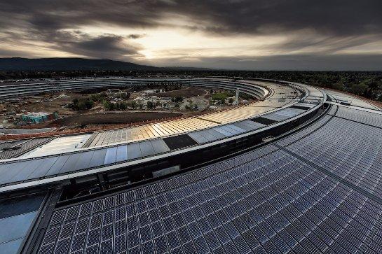 Apple Park скоро будет достроен