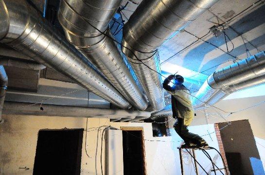 Проектирование и монтаж вентиляции в Санкт-Петербурге
