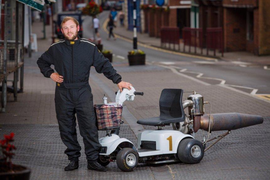 В Великобритании создали скутер для инвалидов