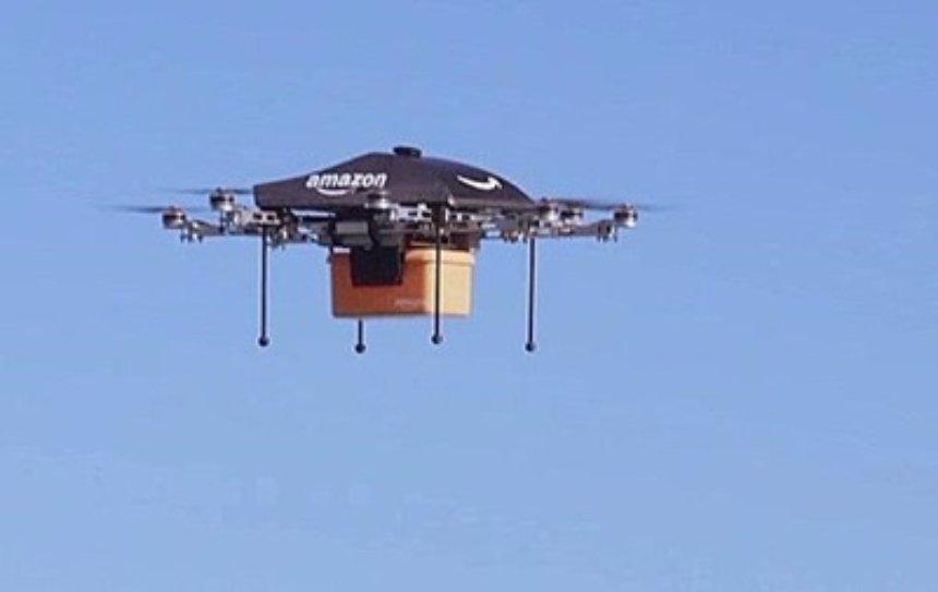 В Amazon презентовали многоуровневые парковки для дронов