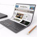 Lenovo представили новый гибкий ноутбук в футуристическом стиле