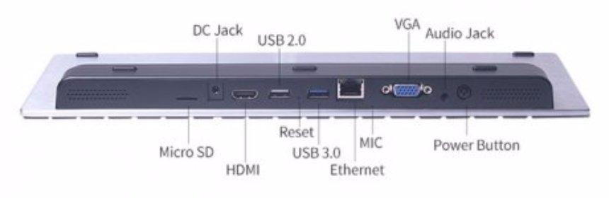 Появился компьютер в виде клавиатуры
