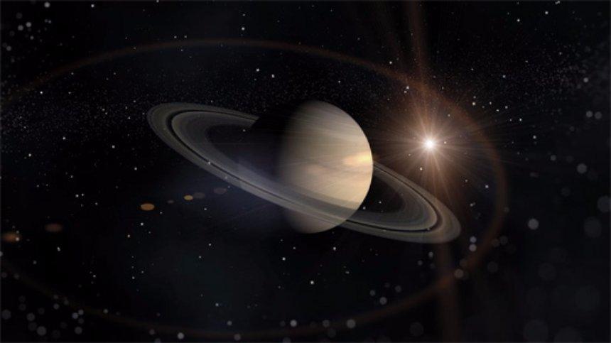 В НАСА опубликовали впечатляющее фото рассвета на Сатурне
