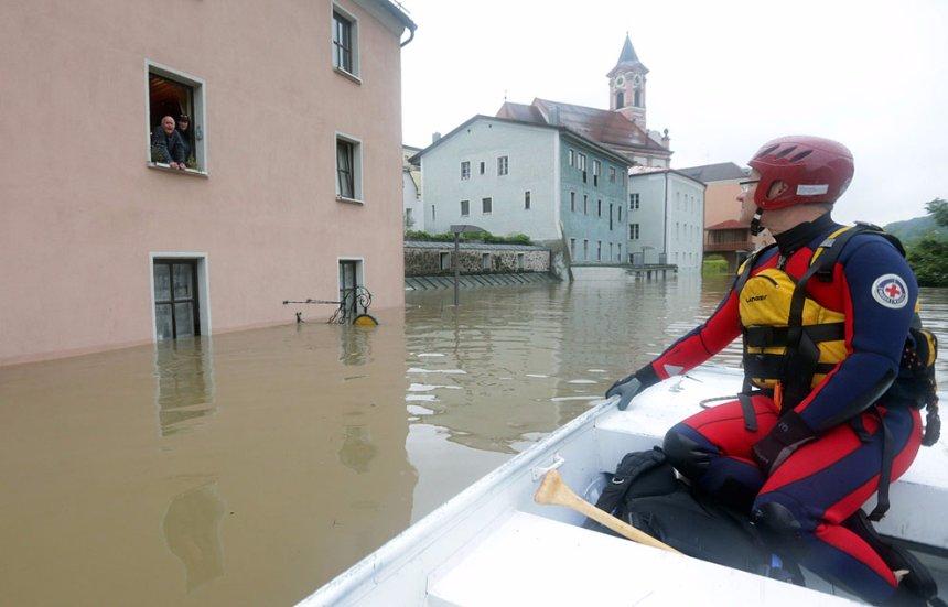 Ученые считают, что в будущем Европу может очень сильно затопить