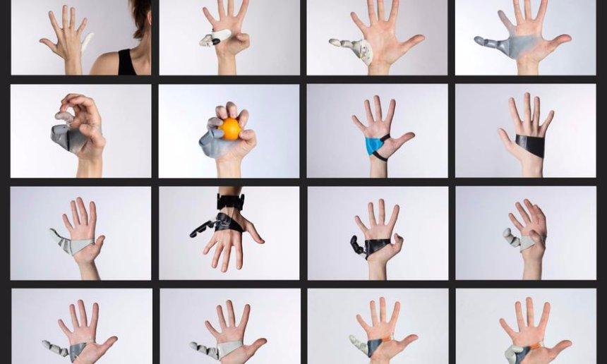 Для руки был создан шестой портативный палец