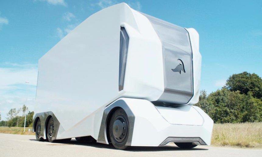 В Швеции представили проект беспилотного грузовика