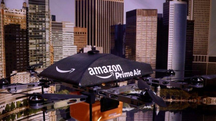 Amazon построит парковку для беспилотников