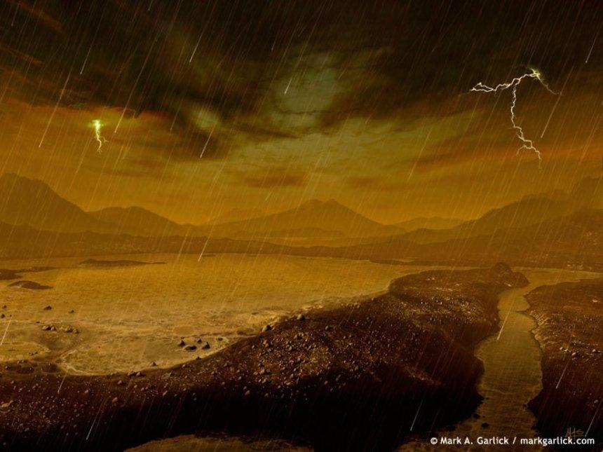 По словам ученых, Титан больше подходит для колонизации, чем Марс