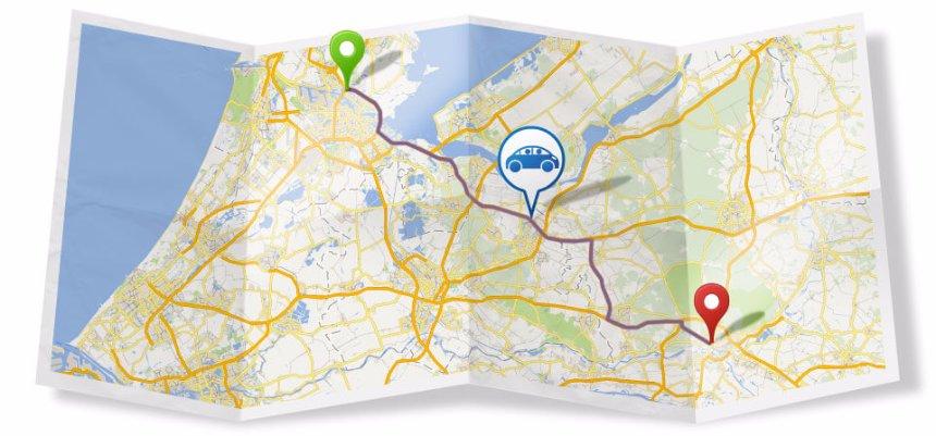 BlaBlaCar появился на Картах Google Украины и Бельгии