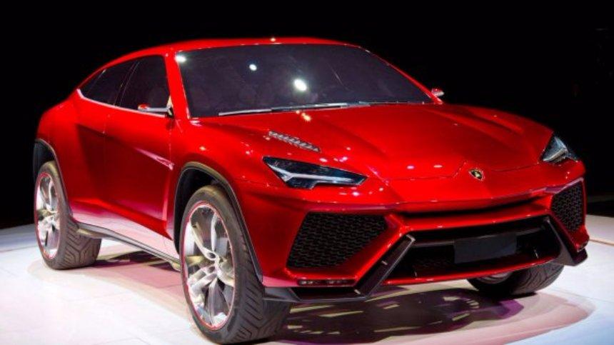 Lamborghini готовит новый внедорожник
