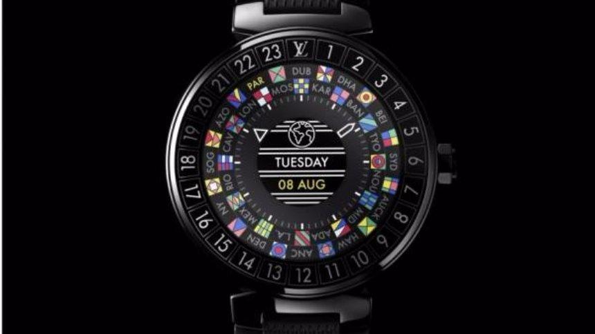 Louis Vuitton представил первые смарт-часы Tambour Horizon