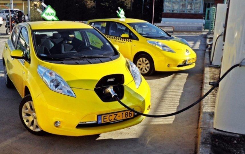 В Москве создадут парковку для электрокаров