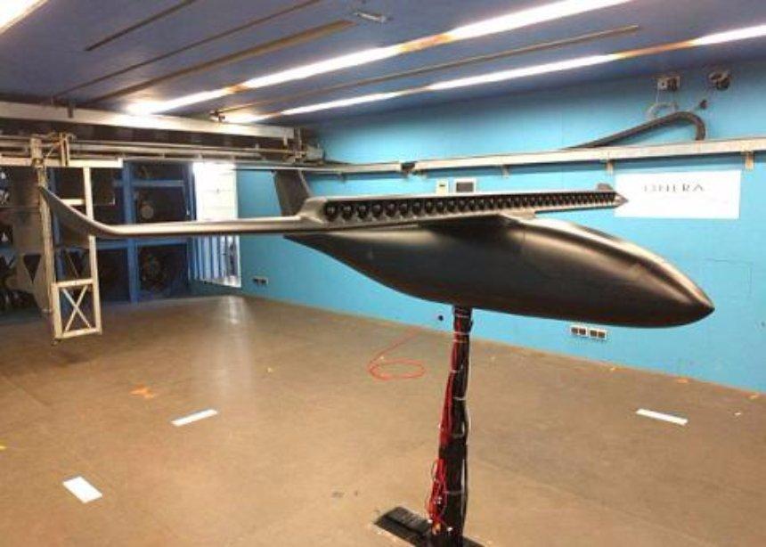 Во Франции создали модель электрического самолета