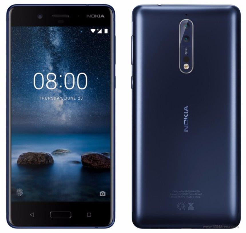 Дата анонса Nokia 8 объявлена
