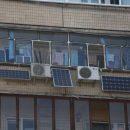 Киевлянин установил в своей квартире солнечные батареи