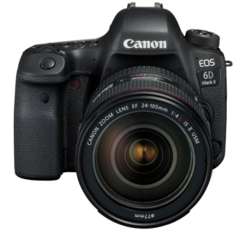 Представлена новая зеркальная камера от Canon