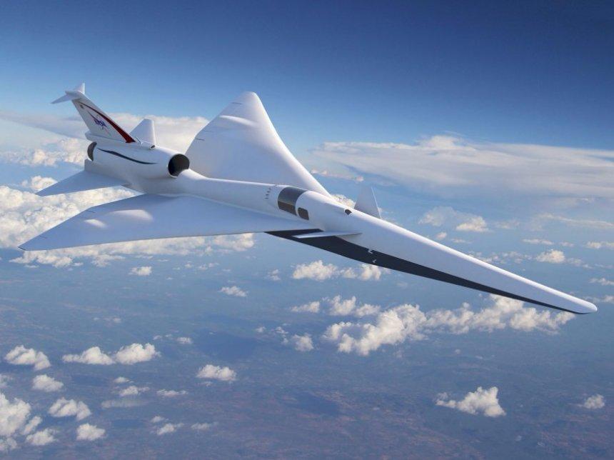 В NASA планируют построить сверхзвуковой самолет