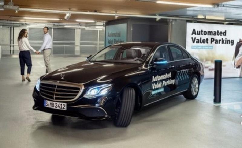 Bosch и Mercedes-Benz представили автоматизированную систему парковки