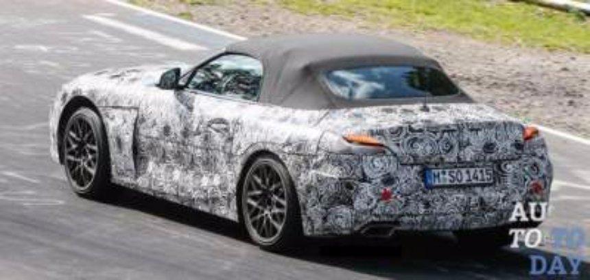 В Сети появились снимки нового родстера BMW Z4