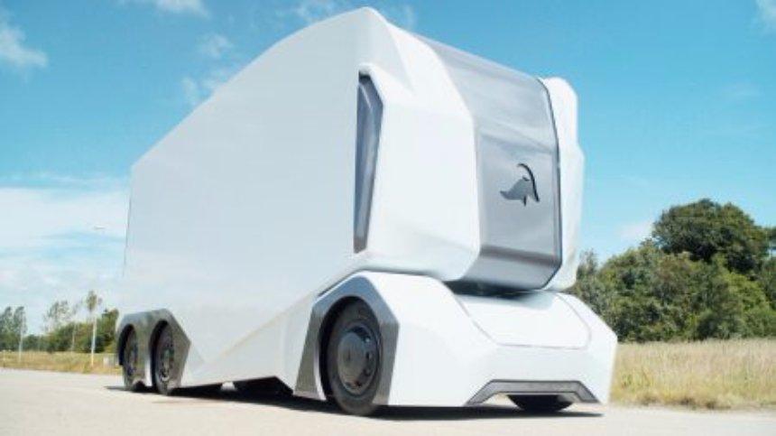 В Швеции создали грузовик без водителя и кабины