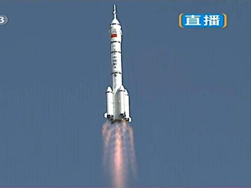 В Китае провалился запуск мощнейшей ракеты