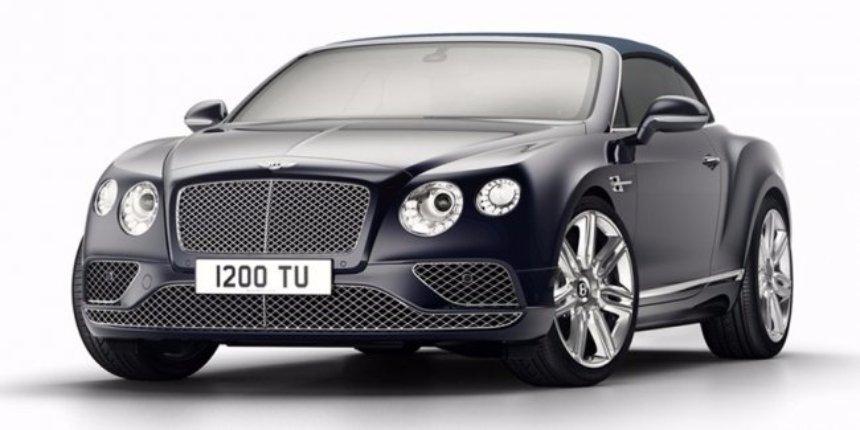 Bentley представила прощальную версию кабриолета Continental GT Timeless Series