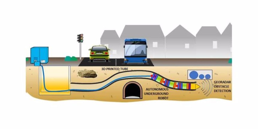 В ЕС создадут подземного робота-барсука
