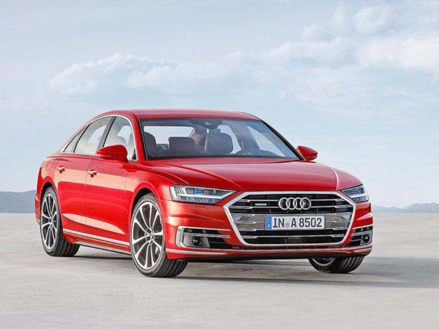 Новую Audi А8 оснастят уникальными функциями